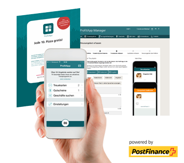 ProfitApp, powered by PostFinance