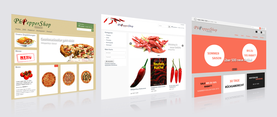 PhPepperShop Themes