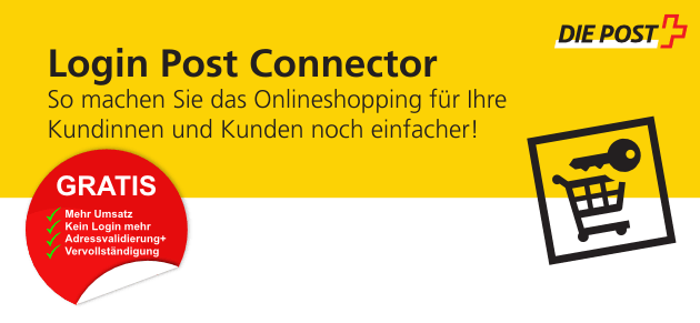 Login Post Connector - kostenlos mit PepperShop