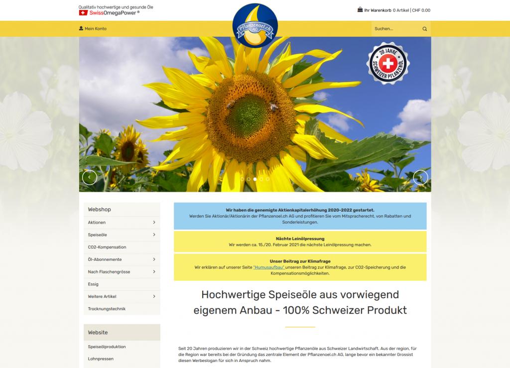 Startseite pflanzenoel.ch